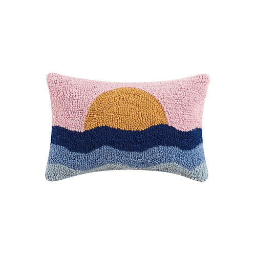 Sunset Hook Pillow