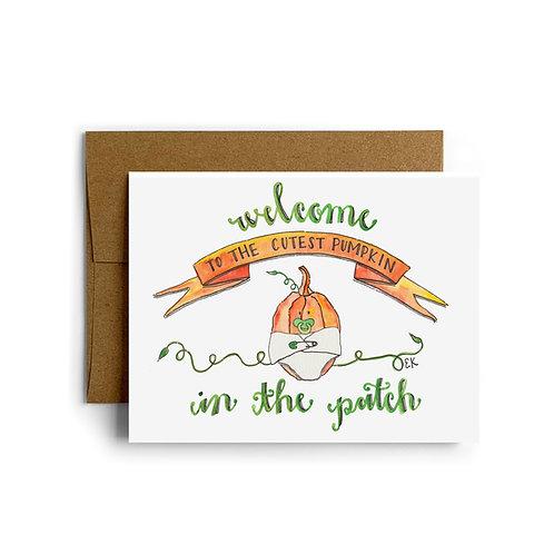 Baby Pumpkie Greeting Card