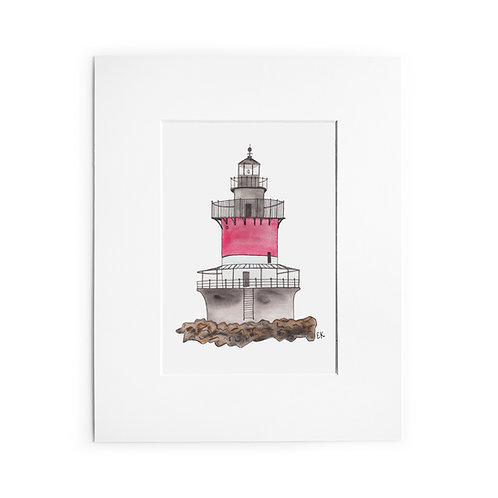 Plum Beach Lighthouse Print