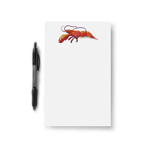 Red Lobster Notepad