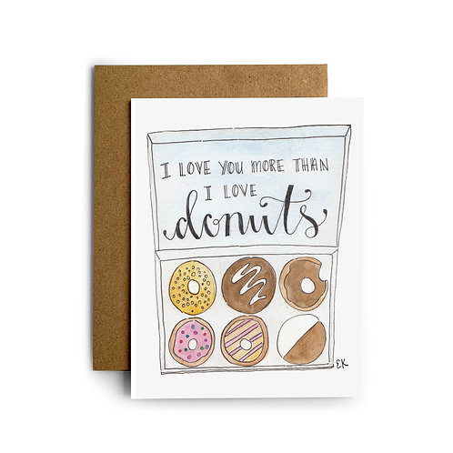 Box of Donuts Greeting Card