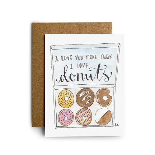 Box of Donuts Greeting Card