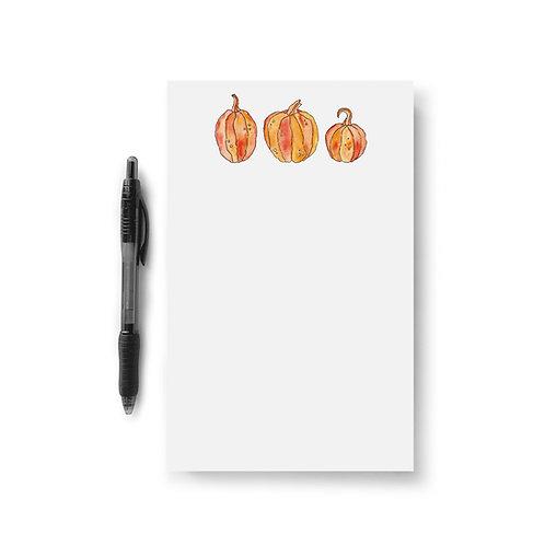 Pumpkin Patch Notepad