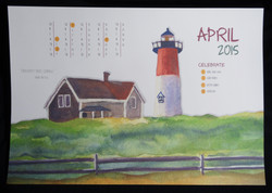 Painting Panorama Calendar