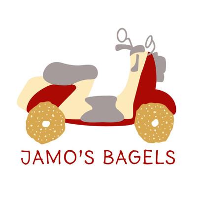 Jamo's Bagels Logo