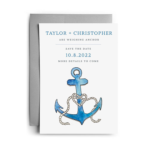 Anchor Save the Dates