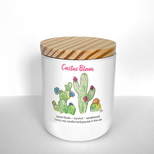 Cactus Bloom Soy Candle