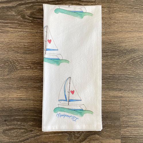 Set Sail Tea Towel