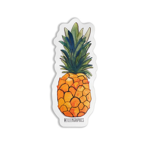 Set of 2 Pineapple Stickers