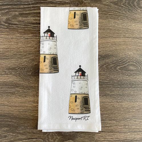 Castle Hill Lighthouse Tea Towel