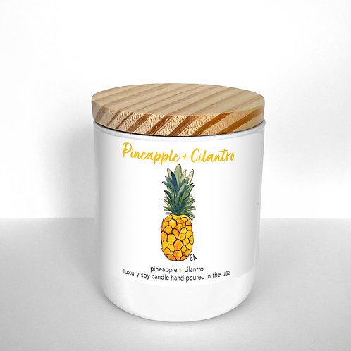 Pineapple + Cilantro Soy Candle