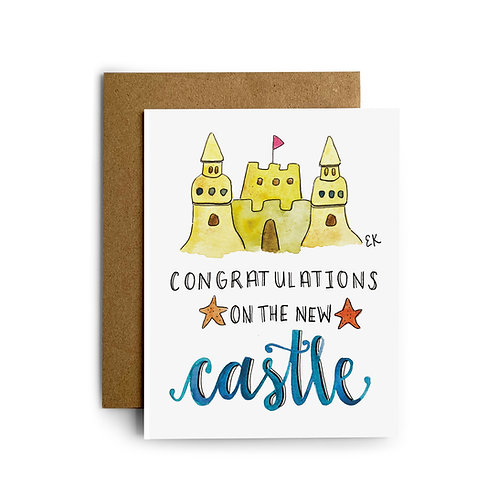 New Castle Greeting Card