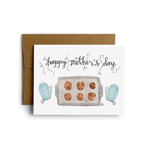Mother's Day Cookies Greeting Card