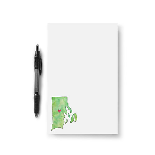 Rhode Island Love Notepad