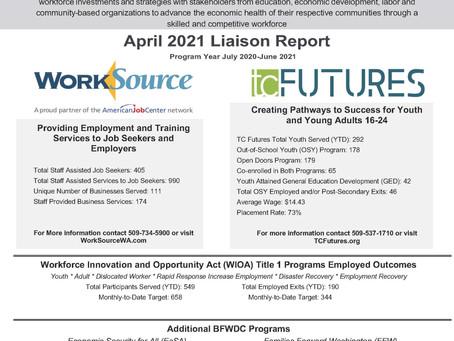 April 2021 Liaison Report