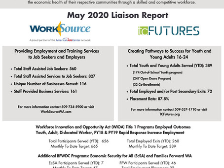 May Liaison Report