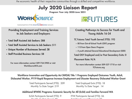 July BFWDC Liaison Report