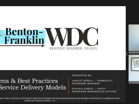 BFWDC Staff Shares at Washington's Economic Symposium