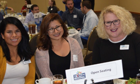 BFWDC Team Members at the Tri-Cities Regional Chamber Luncheon on September 25.