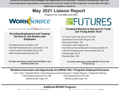 May 2021 Liaison Report