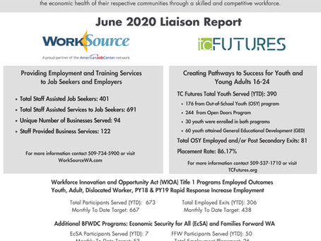 June Liaison Report
