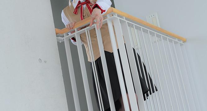 階段(2~3F)コスプレ3
