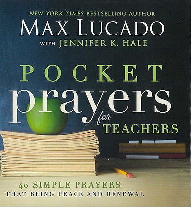 POCKET PRAYERS FOR TEACHERS (HC)