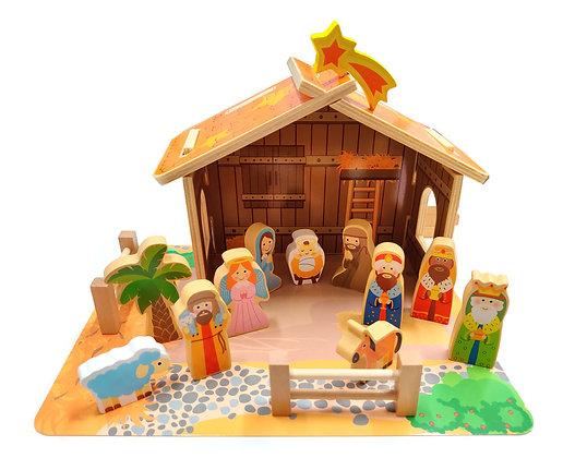 兒童聖誕馬槽套裝 / NATIVITY SET FOR KID