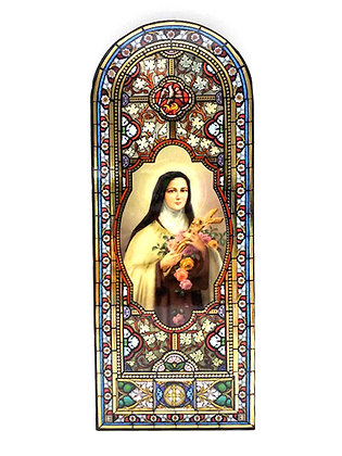 聖女小德蘭掛牌 / ST THERESA OF LISIEUX WALL PLAQUE