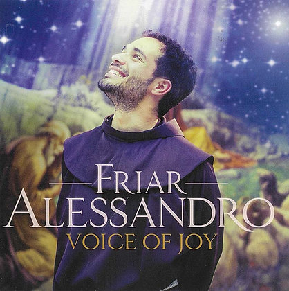 VOICE OF JOY - FRIAR ALESSANDRO (CD)