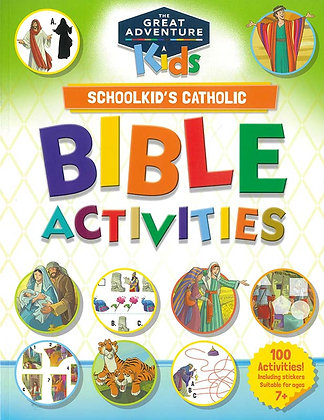 SCHOOLKID'S CATHOLIC BIBLE ACTIVITIES