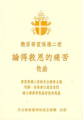 論得救恩的痛苦 — 教宗若望保祿二世牧函