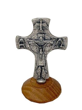 天主聖三座枱十字架 / DESKTOP TRINITY CRUCIFIX