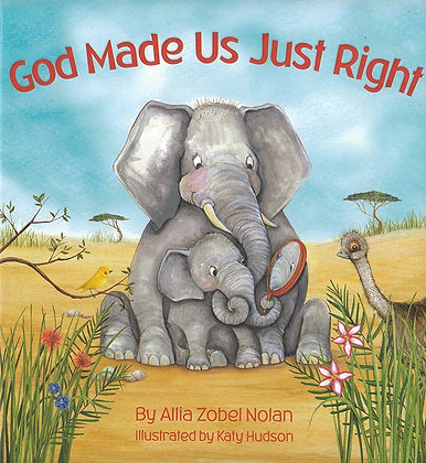 GOD MADE US JUST RIGHT (Pad)
