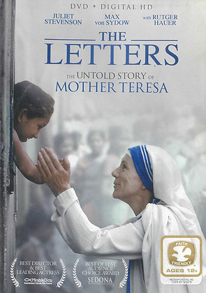 THE LETTERS – THE UNTOLD STORY OF MOTHER TERESA (DVD)