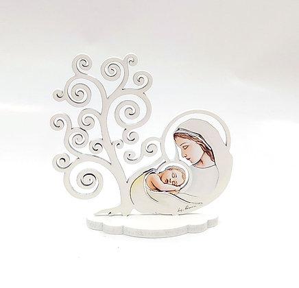 座枱聖母抱子擺設 / MADONNA & CHILD DESKTOP PLAQUE