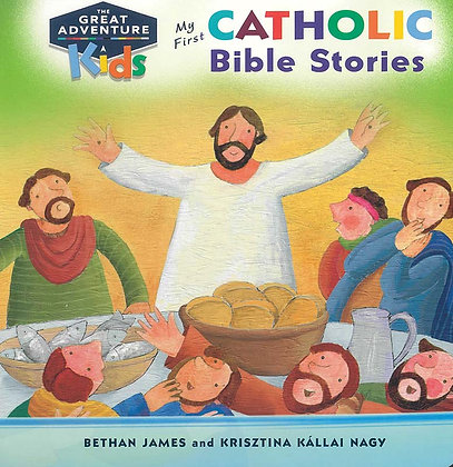 MY FIRST CATHOLIC BIBLE STORIES (Board book)