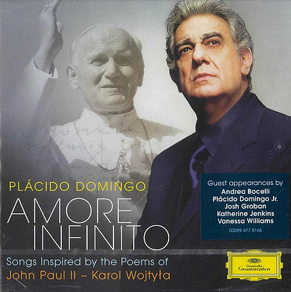 AMORE INFINITO – PLACIDO DOMINGO (CD)
