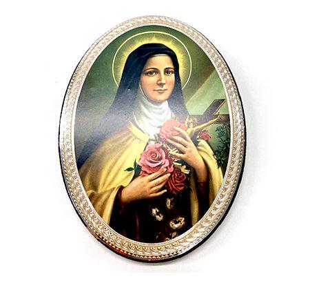 聖女小德蘭掛牌 / ST THERESA OF LISIEUX WALL PLAQUE