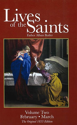 LIVES OF THE SAINTS VOLUME TWO (HC)