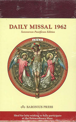 DAILY MISSAL 1962 (Burg Leather/Gilt-Edged)