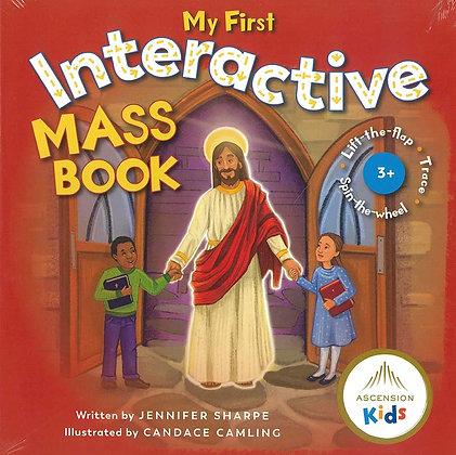 MY FIRST INTERACTIVE MASS BOOK (Board book)