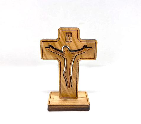 座枱十字架 / DESKTOP WOOD CROSS