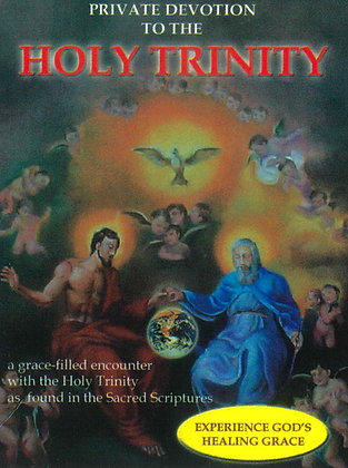PRIVATE DEVOTION TO THE HOLY TRINITY