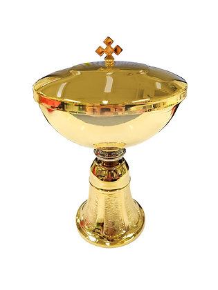 鍍金銀聖體杯 / GOLD AND SILVER PLATED CIBORIUM