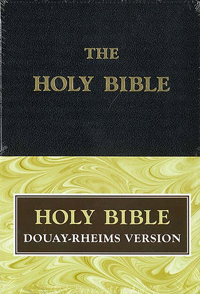 DOUAY-RHEIMS BIBLE (STANDARD SIZE) #5100