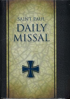 SAINT PAUL DAILY MISSAL (Gilt-Edged/Black Leather)