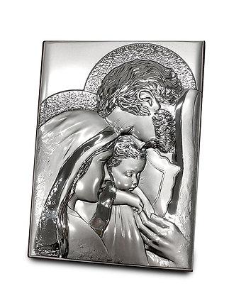 聖家座枱925銀牌 / 925 HOLY FAMILY DESKTOP PLAQUE