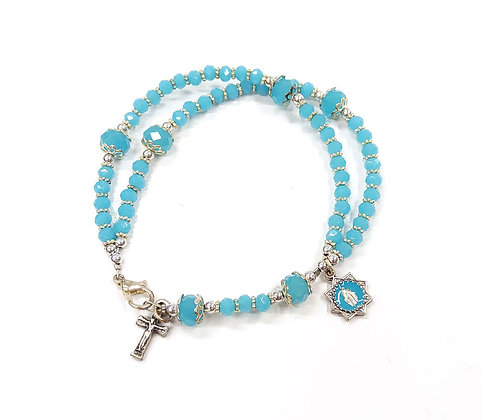 五端唸珠手鏈 / FIVE DECADES ROSARY BRACELET