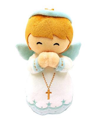 手抱天使公仔(粉紅色、粉藍色)